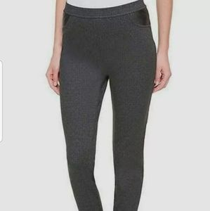DKNY Women's Mid Rise Pull On Legging